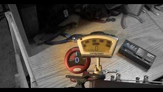 Peterson Strobo Clip tuner vs Snark, Enote, old Ovation tuner, pitch fork