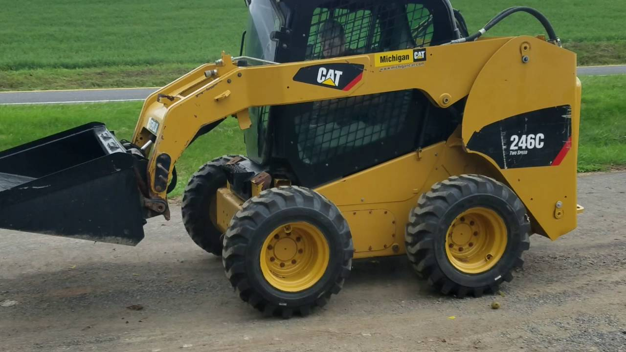 2013 Caterpillar 246C 2 Speed Skid Steer Loader For Sale Oerating  Inspection Video!