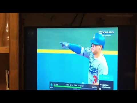 Joe Peterson HR Dodgers 6 Astros 1 2017 World Series Game 4