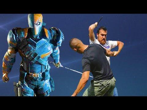 DEATHSTROKE Fighting Style   Batman Arkham Origins