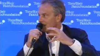 Shaykh Hamza Yusuf & Tony Blair Faith Foundation 6/8