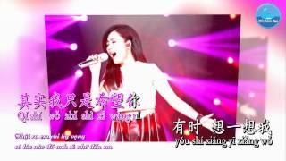 Em Đợi Đến Hoa Cũng Tàn - A LIn (Karaoke)