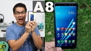 Galaxy A8 Unboxing 🔥/ BRUTAL Equipo