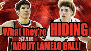 What they DON'T want to ADMIT about Lamelo Ball!  (The truth about Lamelo Ball)