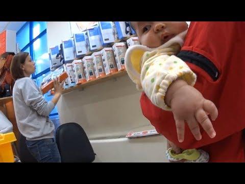 Покупаем Май слинг в Антошке, самом большом детском магазине Одессы. Каким слингом мы пользуемся?