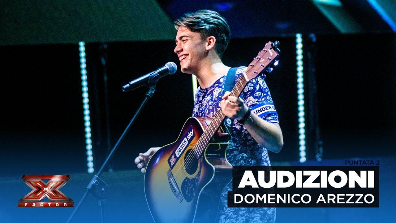 Domenico Arezzo X Factor Italia