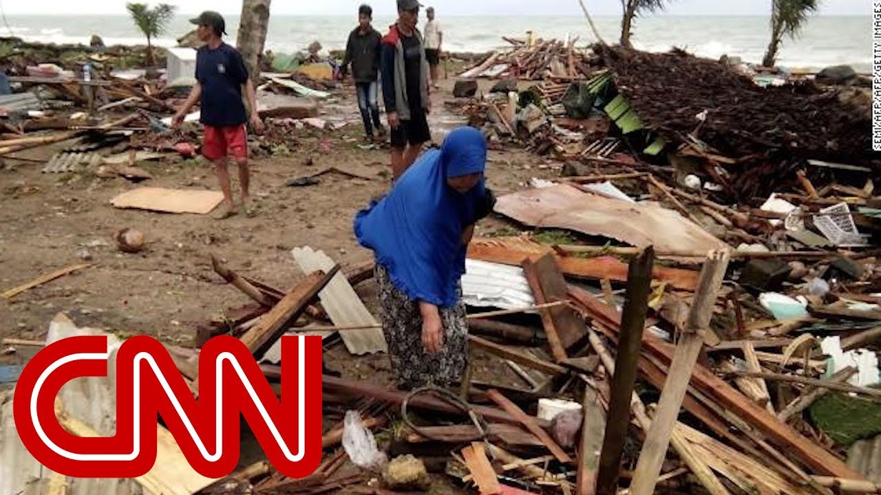 More than 100 killed when tsunami hits Indonesia