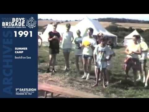 1991: 1st Eastleigh Boys' Brigade - Summer Camp - Bexhill-on-Sea