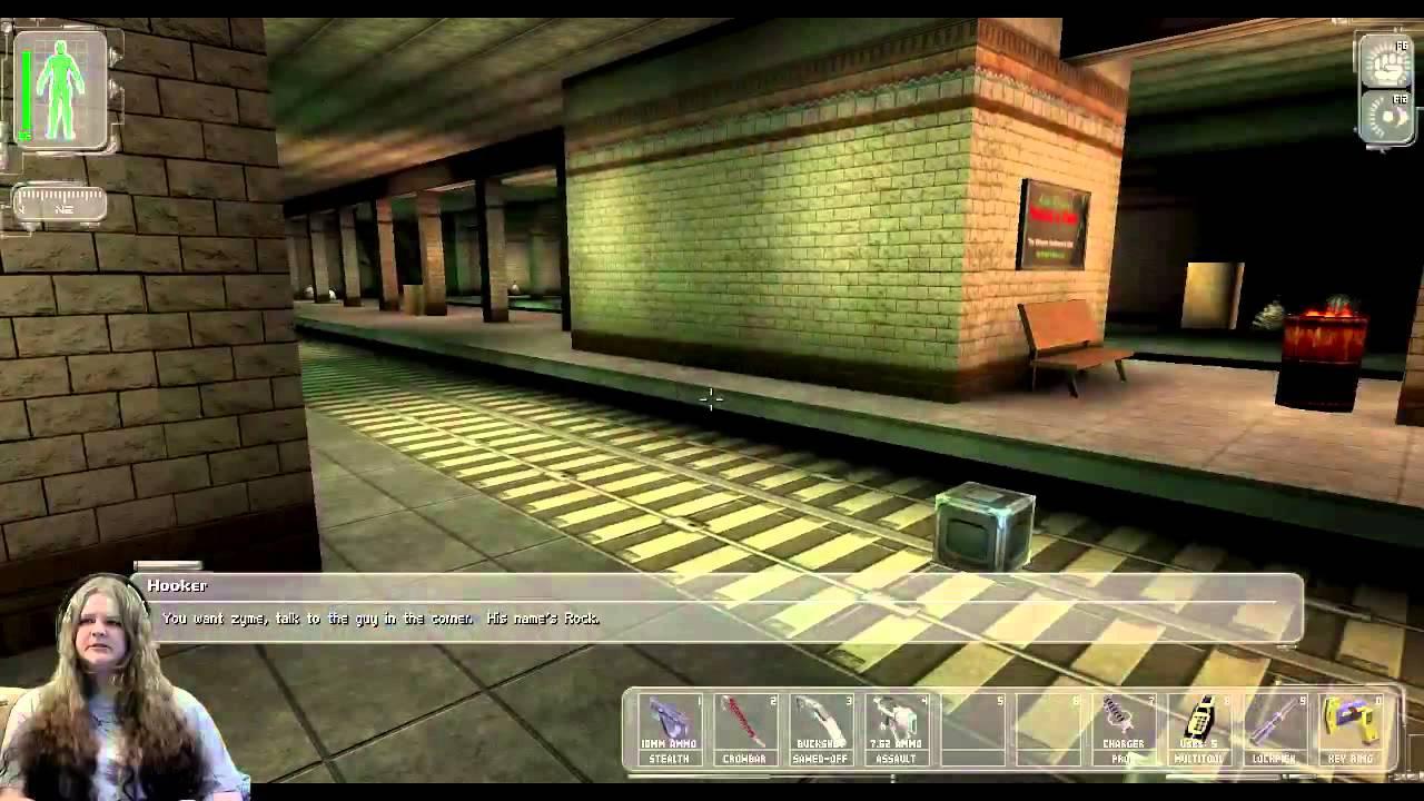 Deus Ex Part 10 Awkward Moaning Youtube