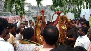 Potharaju Dance @ Hari Bowli Oldcity 2014
