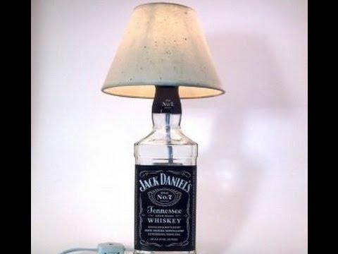 Как сделать настольную лампу  в домашних условиях 85