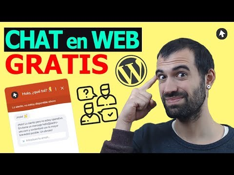 INSTALAR Un CHAT GRATIS En Tu Página Web WORDPRESS 2019