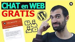 INSTALAR un CHAT GRATIS en tu página web WORDPRESS 2019