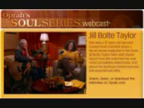 Best of Dr Jill Bolte Taylor's interview on Oprah's SoulSeries