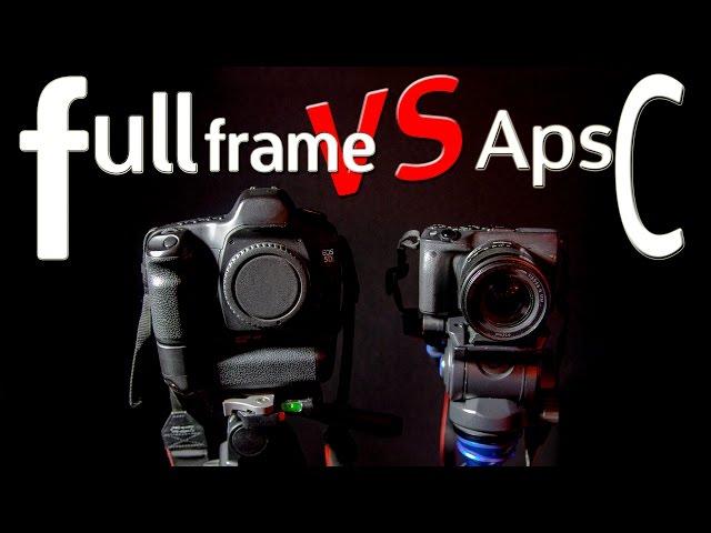 Full frame vs aps-c en español   ventajas e inconvenientes