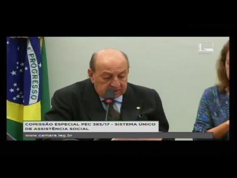 PEC 383/17 - SISTEMA ÚNICO DE ASSISTÊNCIA SOCIAL - Reunião de Instalação e E... - 22/05/2018 - 16:49