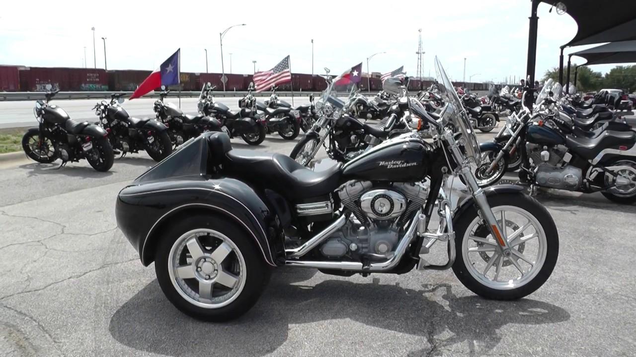 318708 - 2007 Harley Davidson Dyna Super Glide FXD Trike Conversion - Used  motorcycles for sale