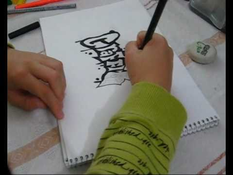How to draw awesome Graffiti