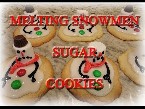 How To Make Melted Snowmen Co Es
