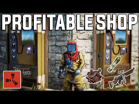 Running The MOST Profitable SHOP EVER For EASY PROFIT - Rust Gameplay
