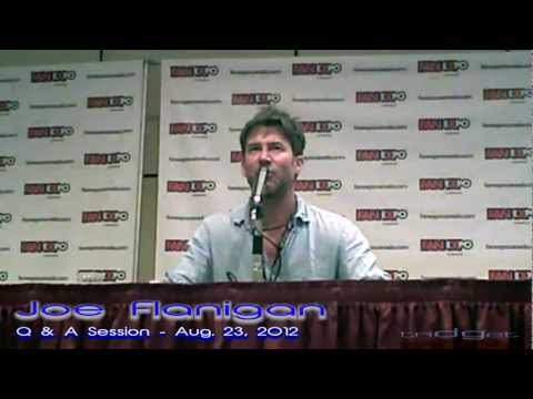 Joe Flanigan at  Expo Canada 2012  1 hour Q & A Session