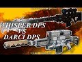 watch he video of Destiny 2: DARCI VS Whisper Of The Worm! Which Is DPS King? (DPS Test)