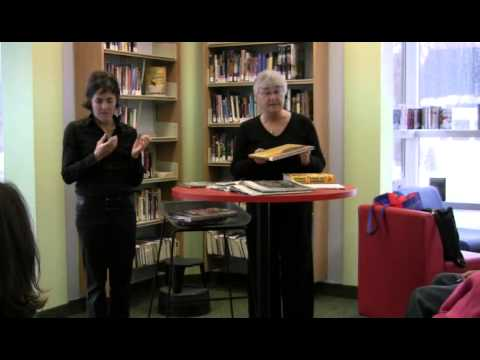 Librarians Give Book Talks - Getting to Know the Library in ASL