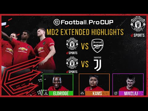 Manchester United | eFootball.Pro Cup Matchday 2 Extended Highlights | eFootball PES 2020 | esports