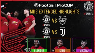 Manchester United | eFootball.Pro Cup Matchday 2 Extended Highlights | eFootball