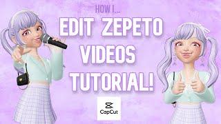 How I Edit Aesthetic Videos On Zepeto - Easy Tutorial ☆ CapCut ☆ screenshot 5