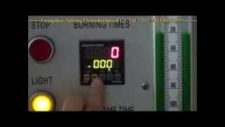 Horizontal Vertical Flame Tester ZLT UL94