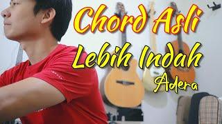 Chord Asli dan Lengkap | Lebih Indah - Adera | NY Tutorial Guitar