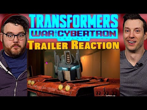 Saving Private Bumble Bee | Transformers War for Cybertron Trailer Reaction