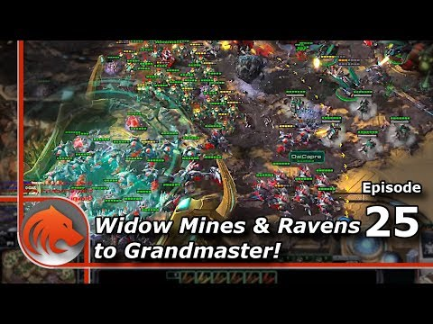 StarCraft 2: Mining Out the Map With Mines & Ravens!