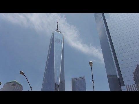 UPDATE! One World Trade Center / Three World Trade Center 6/21/2016 construction progress part 2