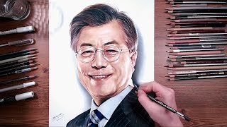 Drawing Moon Jae-in(文在寅) | drawholic