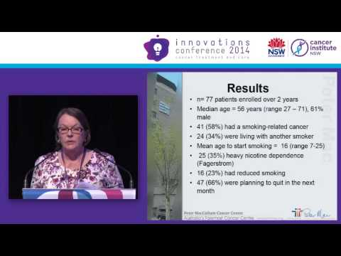 Smoke-free hospital and patient-centred support - Ingrid Plueckhahn