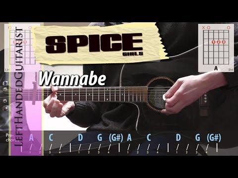 Spice Girls - Wannabe | guitar lesson