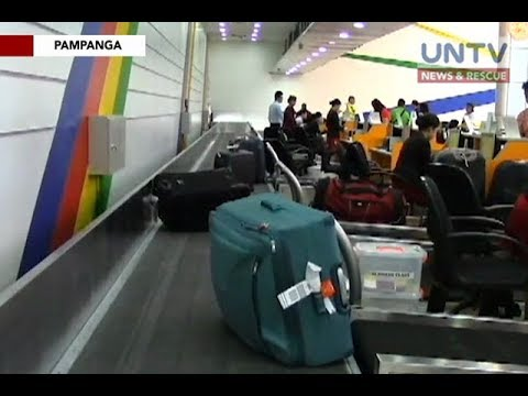 Clark Int'l Airport to implement tighter security following incident of baggage theft
