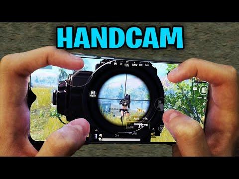 Redmi Note 8 Pro PUBG Mobile   HANDCAM 4 Finger + Full Gyro! #60