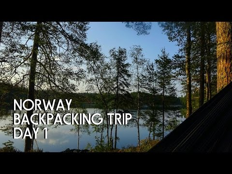 """NORWAY BACKPACKING TRIP DAY 1 """"TIRED OF TRAVEL"""""""