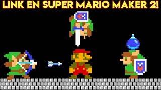 Link en Super Mario Maker 2!! - Super Mario Maker 2 Actualización 2.0 con Pepe el Mago