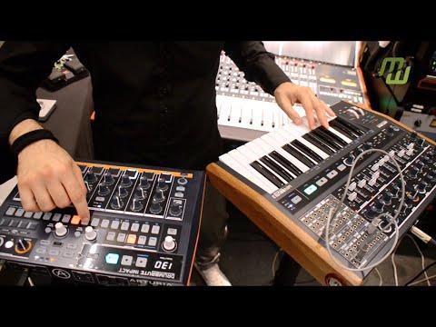 EUGENE meets ARTURIA DrumBrute Impact & MiniBrute 2