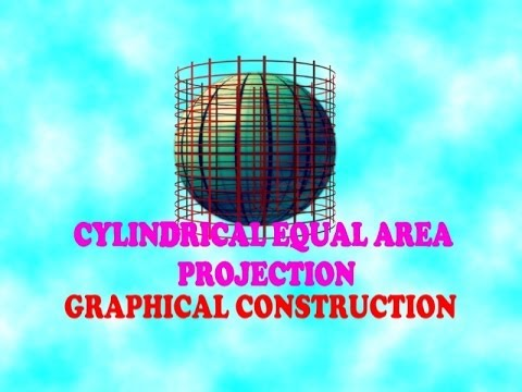 Graphical Cylindrical Equal Area Projection