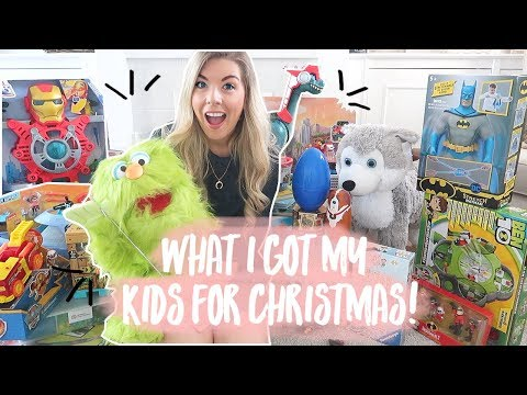 WHAT I GOT MY KIDS FOR CHRISTMAS | KATE MURNANE thumbnail
