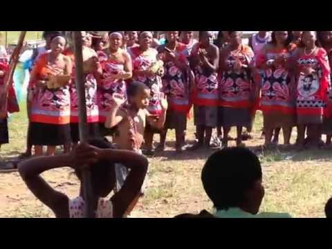 Swaziland traditional dance