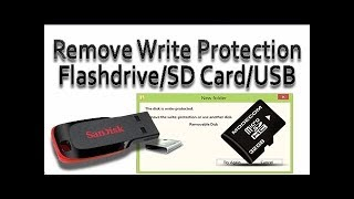 Top 3 Ways To Fix Remove Write Protection From Usb Flash Drive Sd