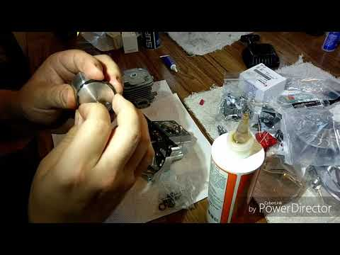 Part #1 Zenoah engine build