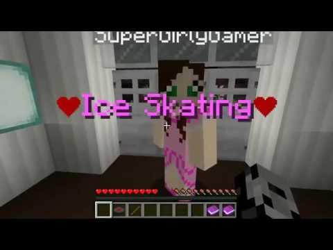 PopularMMOs Pat and Jen Minecraft TEDDY BEAR SECRETS   Save Valentine's Day   Custom Map