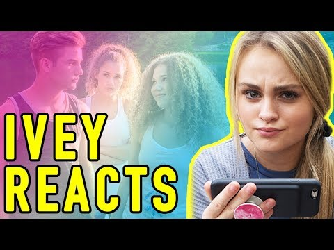 Thumbnail: Ivey Reacts: When A Girl Likes A Boy (Haschak Sisters)
